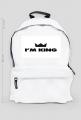 Plecak I m king