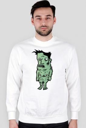 Bluza z zielonym ludkiem - Frogman