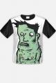 Koszulka z zielonym ludkiem - Frogman