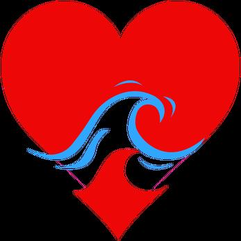 Koszulka damska Wave Heart