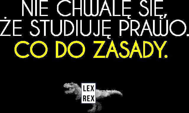 Nie chwalę się, że studiuję prawo - Bluza męska - LexRex