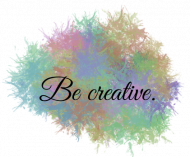 Plecak BE CREATIVE.