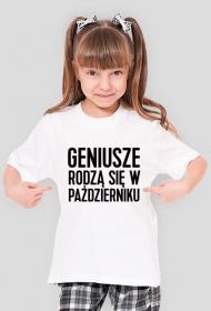 Koszulka Geniusze rodzą się w Październiku