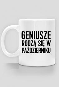 Kubek Geniusze rodzą się w Październiku