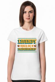Koszulka Legendy rodzą się w Październiku