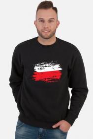 Męska Bluza Flaga Czarna