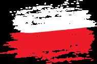 Damska Koszulka Flaga Czarna