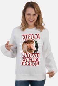 Bluza Kurła znowu ryba po grecku