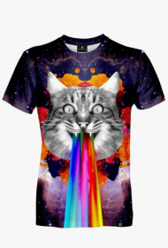 GALAXY CAT MEN'S T-SHIRT