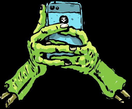 Bluza Selfie Zombie