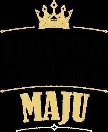 Koszulka męska - Królowie rodzą się w maju