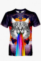 GALAXY CAT MEN'S T-SHIRT