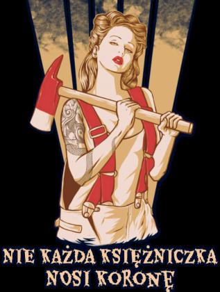 Koszulka strażacka dziewczyna