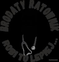 T-shirt Brodaty Ratownik