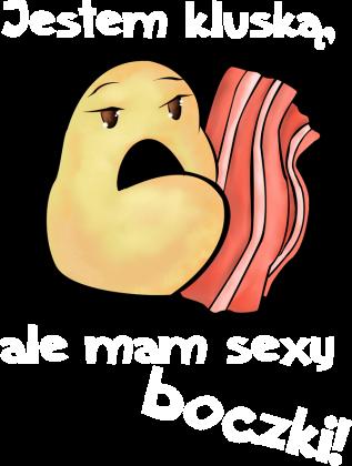 Mam sexy boczki! - czarna