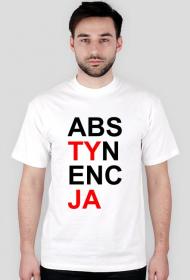"""Koszulka Konstytucja - parodia """"Abstynecja"""" - OP Grafika"""