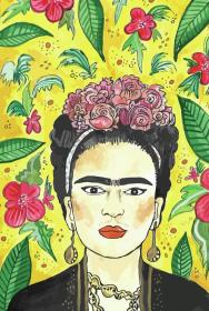 Mkreuje - Frida Kahlo - torba