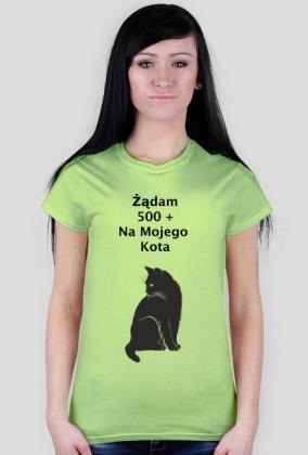Koszulka  Kot  500 +