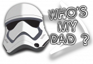 Czapka - WHO'S MY DAD? - Star Wars