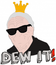 "Koszulka Damska - ""DEW IT!"" - Star Wars"