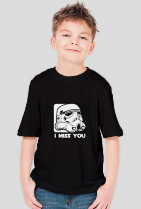 Koszulka - I MISS YOU! - Star Wars
