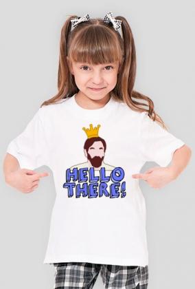 """Koszulka dla Dziewczynki - """"Hello There! Obi-Wan"""" - Star Wars"""