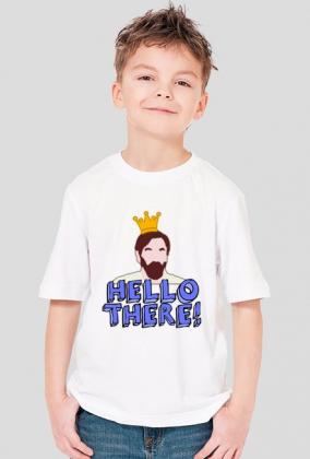 "Koszulka dla Chłopca - ""Hello There! Obi-Wan"" - Star Wars"