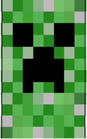 Komin Minecraft Creeper