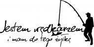 Koszulka dla wędkarza  - tył