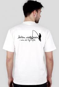 Koszulka dla wędkarza - dwie strony