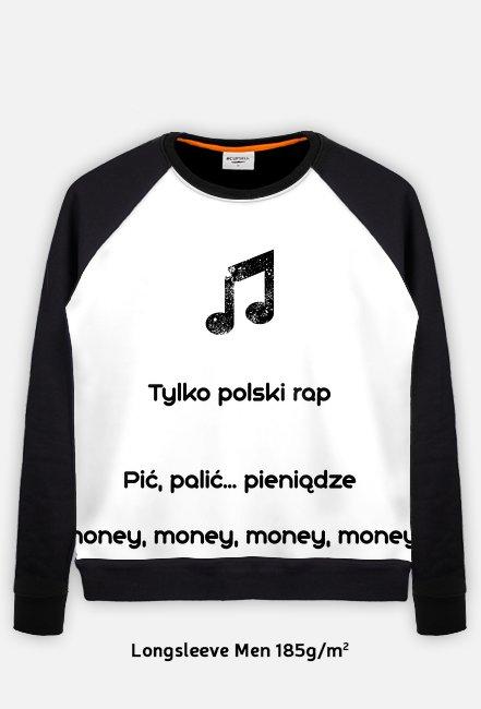 Bluza tylko polski rap