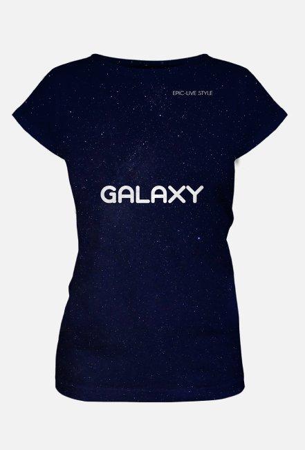 GALAXY koszulka damska