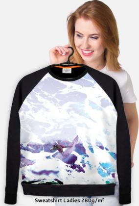 swag, print sweater