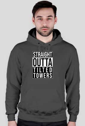 Straight Outta Tilted Towers - Bluza Fortnite