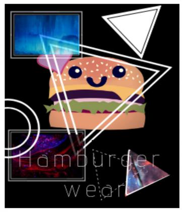 """Bluza ,,Hamburger Wear"""""""