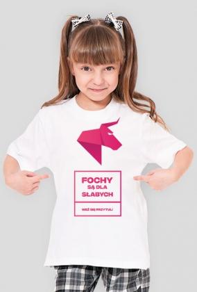 FOCHY SĄ DLA SŁABYCH - Weź się przytul! Koszulka dla dzieci