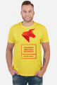 UDAWANIE JEST DLA SŁABYCH - BĄDŹ SOBĄ! Koszulka męska