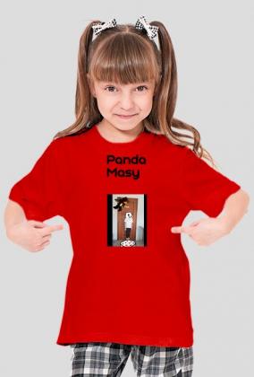 Koszulka panda masy
