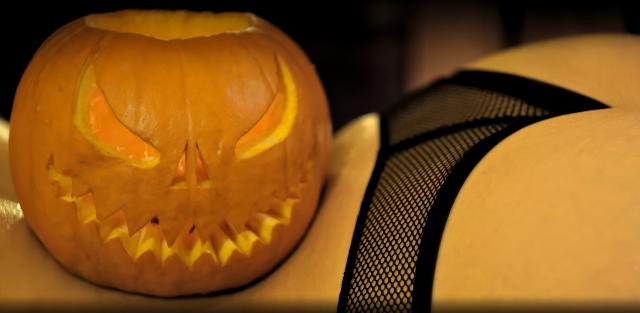 Kubek sexy halloween.