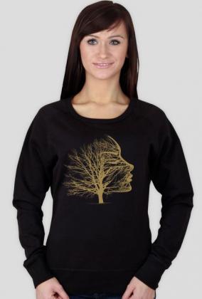 kobieta drzewo