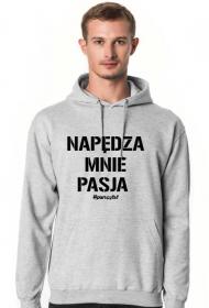 PASJA Bluza Szara
