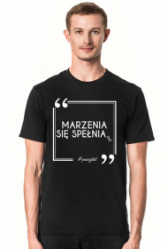 Marzenia - T-shirt Black