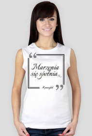 Marzenia - Koszulka White