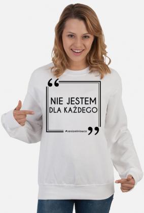 NIE JESTEM - bluza ZENJ