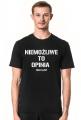 NIEMOŻLIWE T-Shirt Black