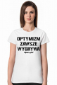 OPTYMIZM T-Shirt White
