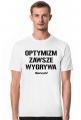 OPTYMIZM T-Shirt White