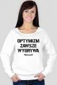 OPTYMIZM Bluza White