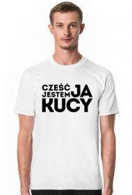 Cześć, ja jestem Kucy, wersja ciemna ► Koszulka męska
