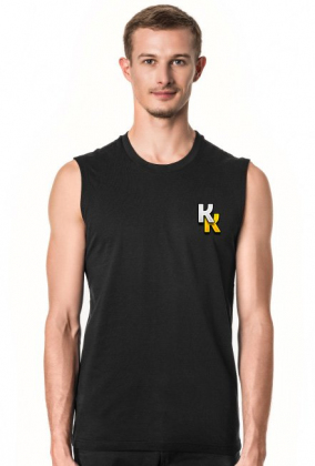 BASIC ► Koszulka męska bez rękawów